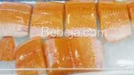 Ikan Salmon Sushi Dan Sashimi