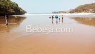 Keindahan Pantai Baron Gunungkidul