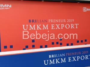 UMKM Export BRIlian Preneur 2019