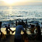 Senja Hari Di Pantai Senggigi