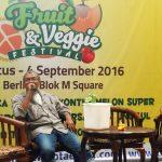Talkshow Hidroponik Pada Fruit & Veggie Festival 2016