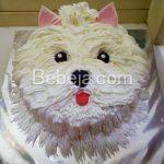 Kue Ulang Tahun Berbentuk Anjing