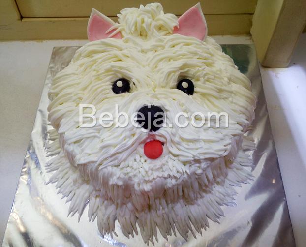 kue-ulang-tahun-berbentuk-anjing