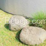 Batu Alam Di Taman