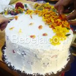 Kue Tart Berhias Edible flower
